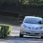 日産リーフ ラリー優勝!国沢光宏さんの電気自動車が優勝を飾った